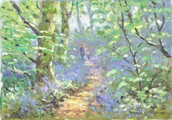 Bluebell V by James Preston -  sized 8x6 inches. Available from Whitewall Galleries